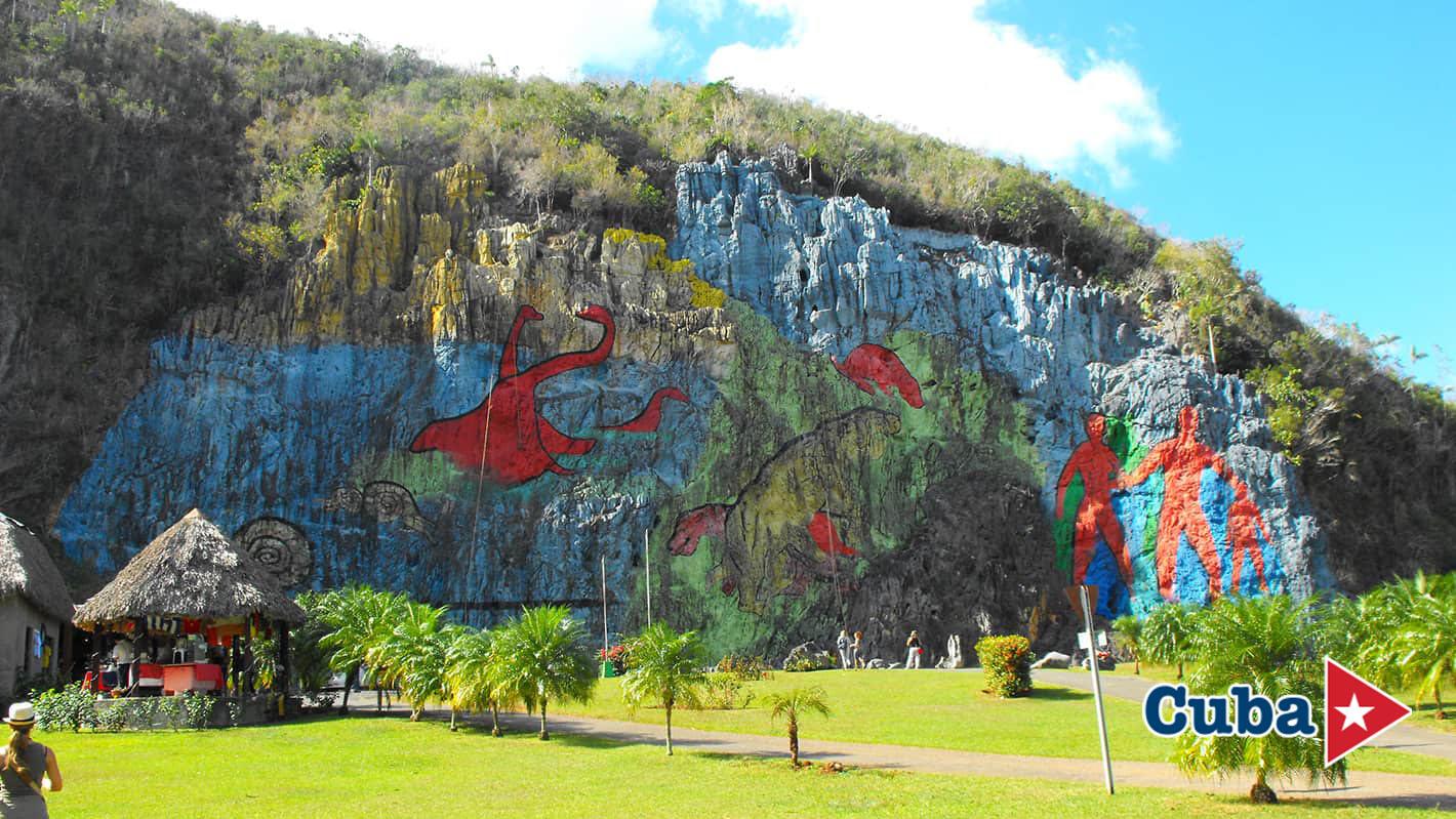 Βραχογραφία της Προιστορίας κοιλάδα Βινιάλες