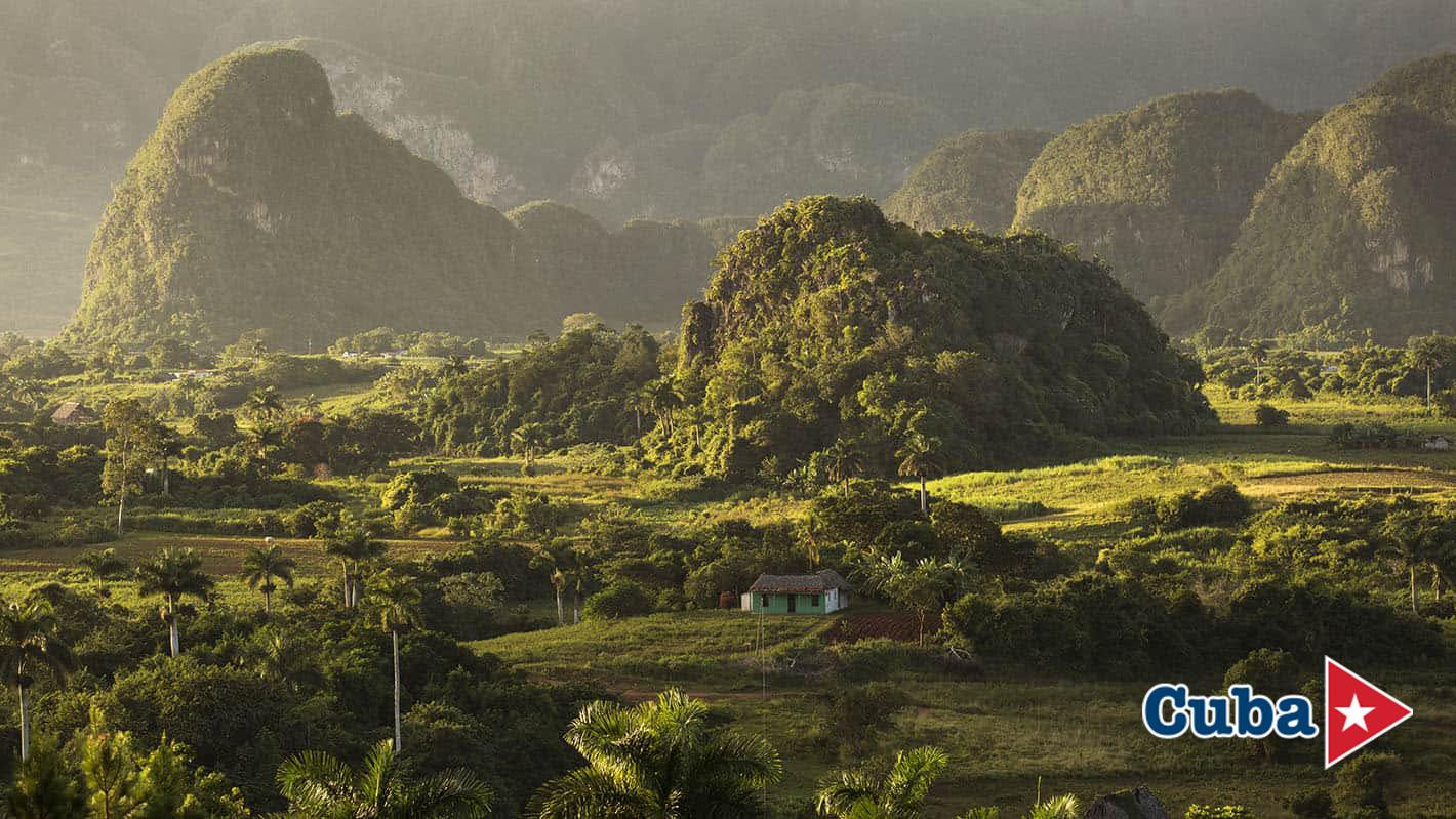 Σχηματισμοί mogotes στην κοιλάδα Βινιάλες