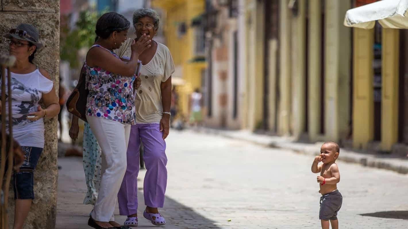 Cuban smiling faces