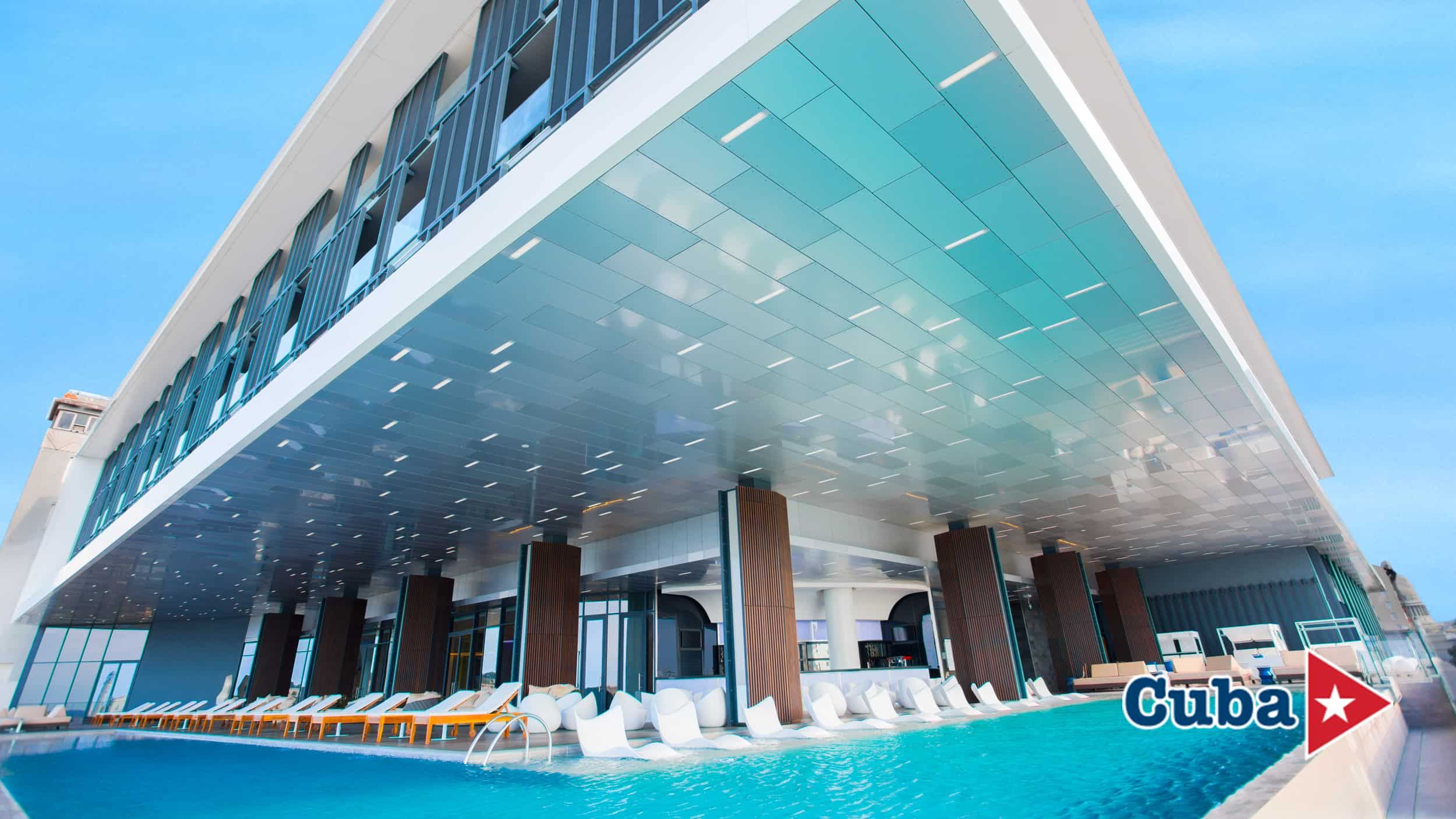 Iberostar Grand Packard Hotel | Exterior Pool