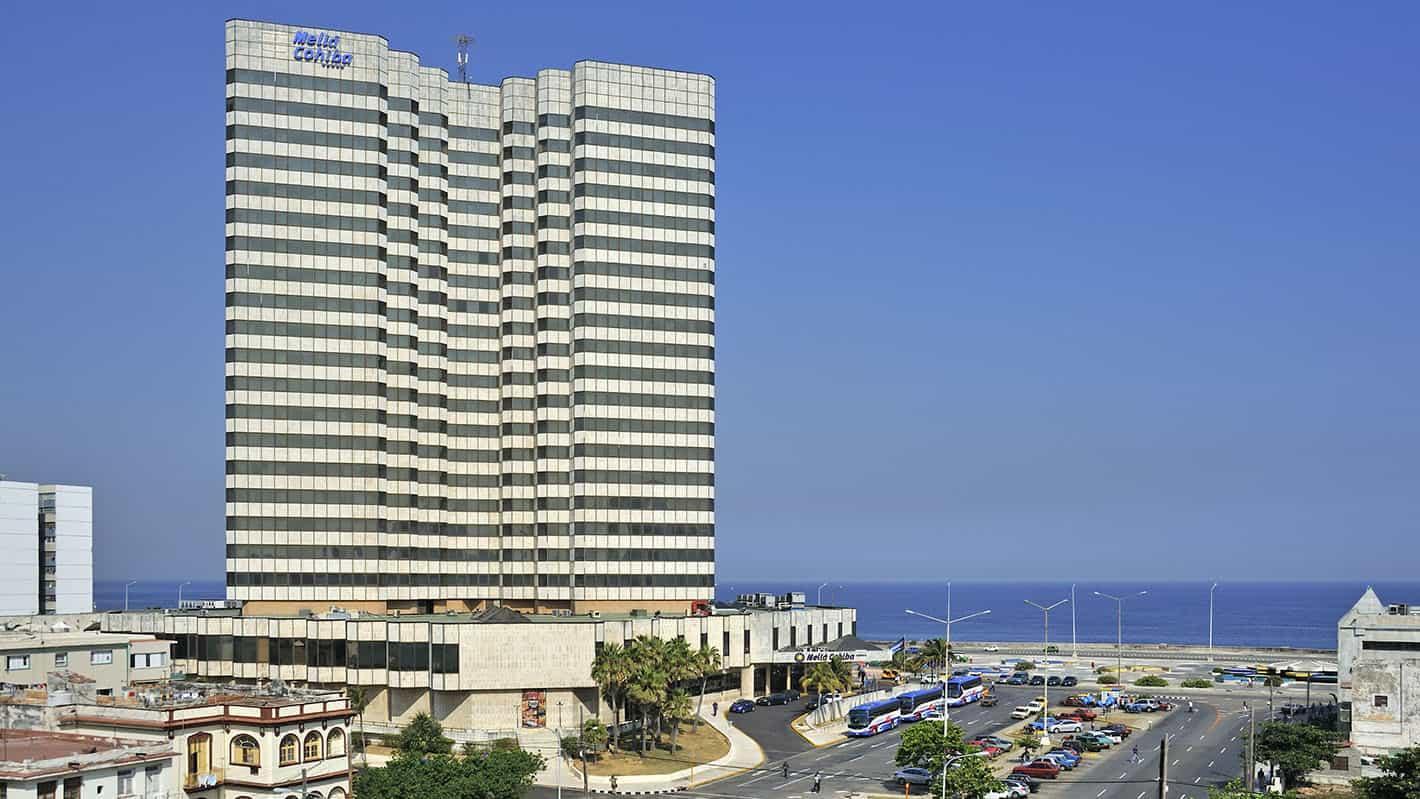 Melia cohiba hotel havana general view