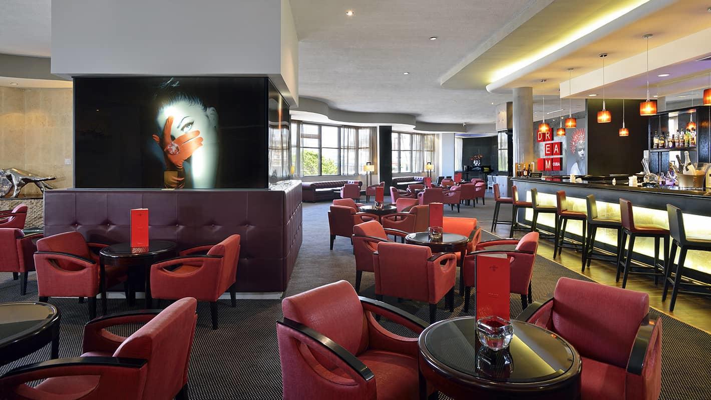 Hotel Gran Anejo Lobby Bar at Melia Cohiba Hotel