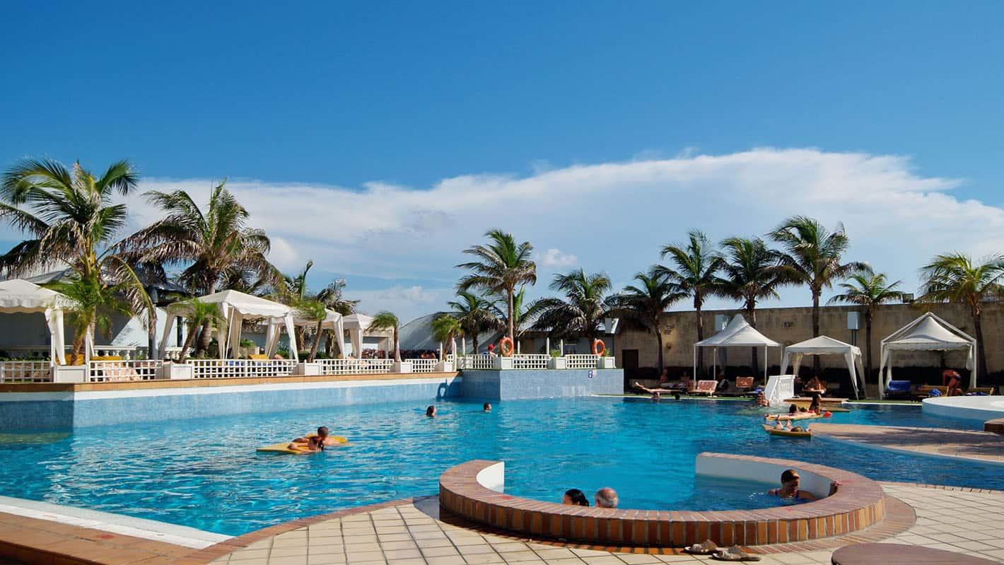Melia cohiba hotel havana pool view