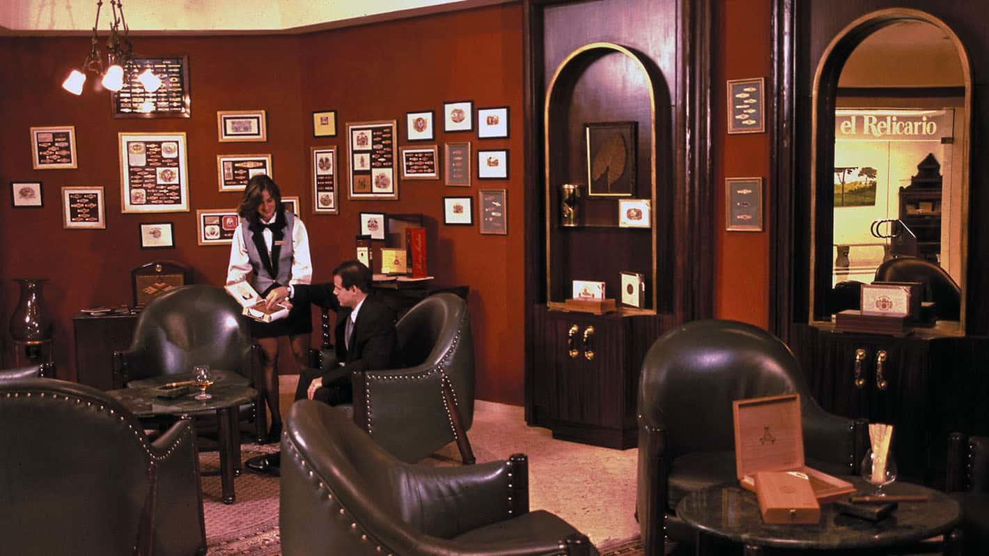 Melia cohiba hotel havana relicario bar 1