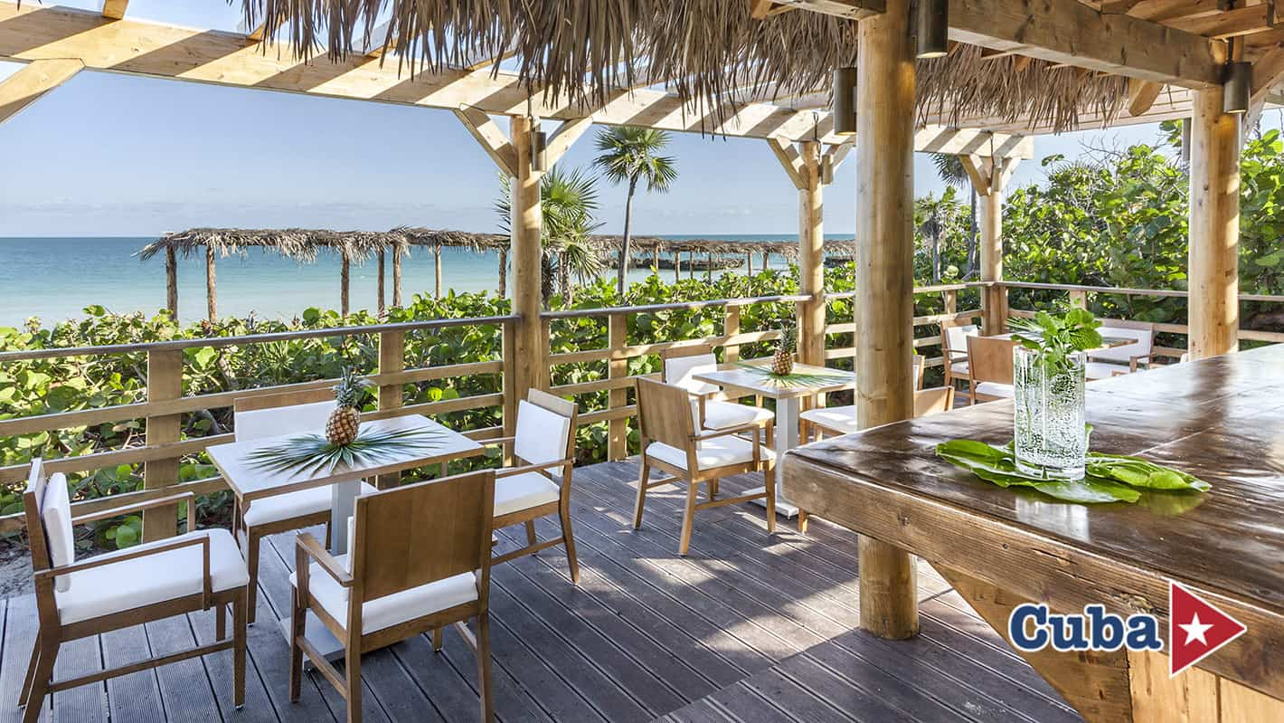 Paradisus los cayos cayo santa maria bar playa chiringuito