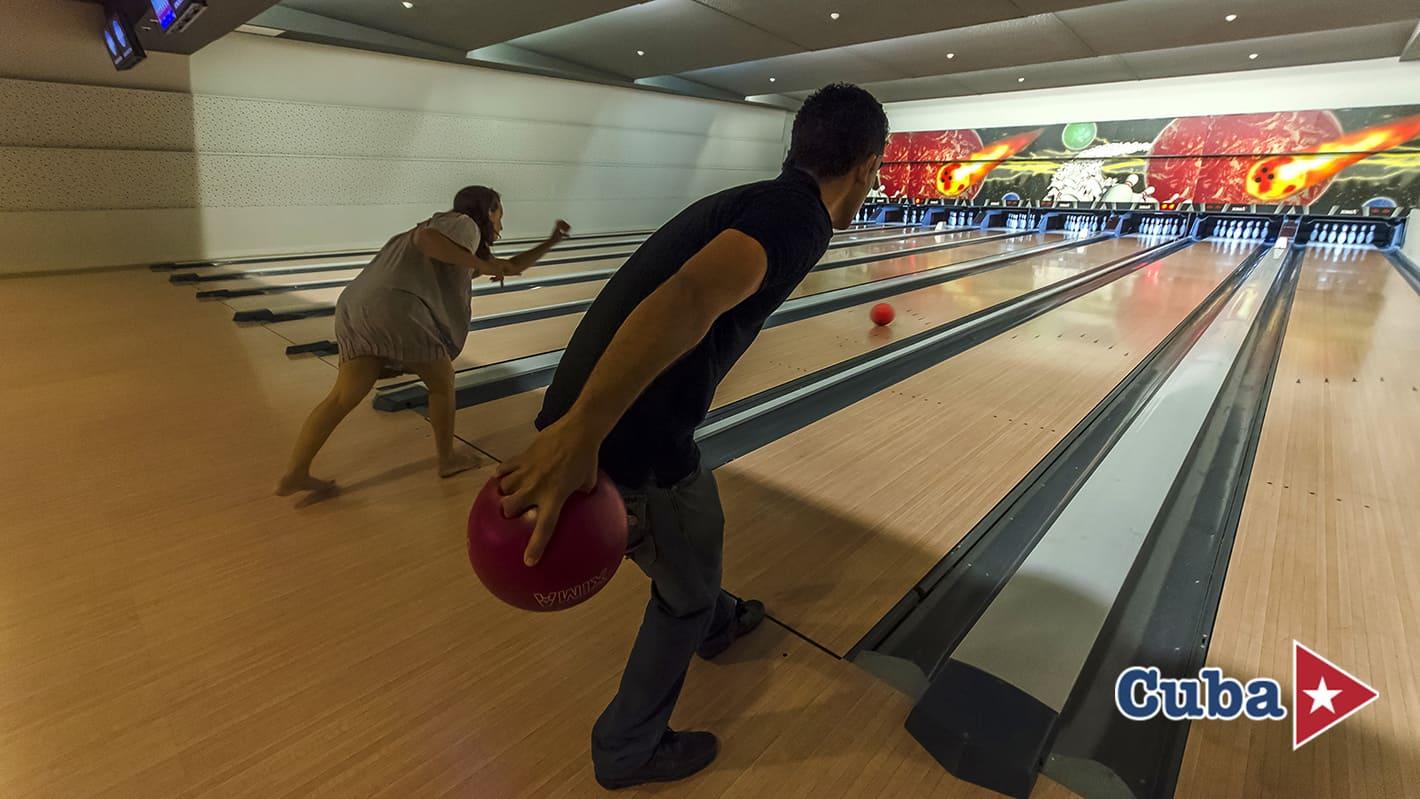 Paradisus los cayos cayo santa maria bolera bowling