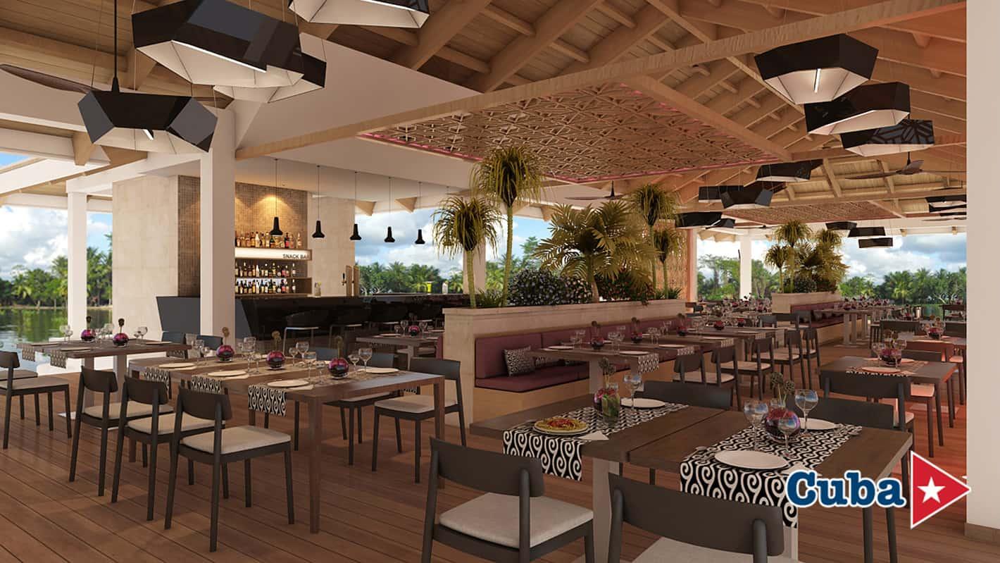 Paradisus los cayos cayo santa maria pool snack bar