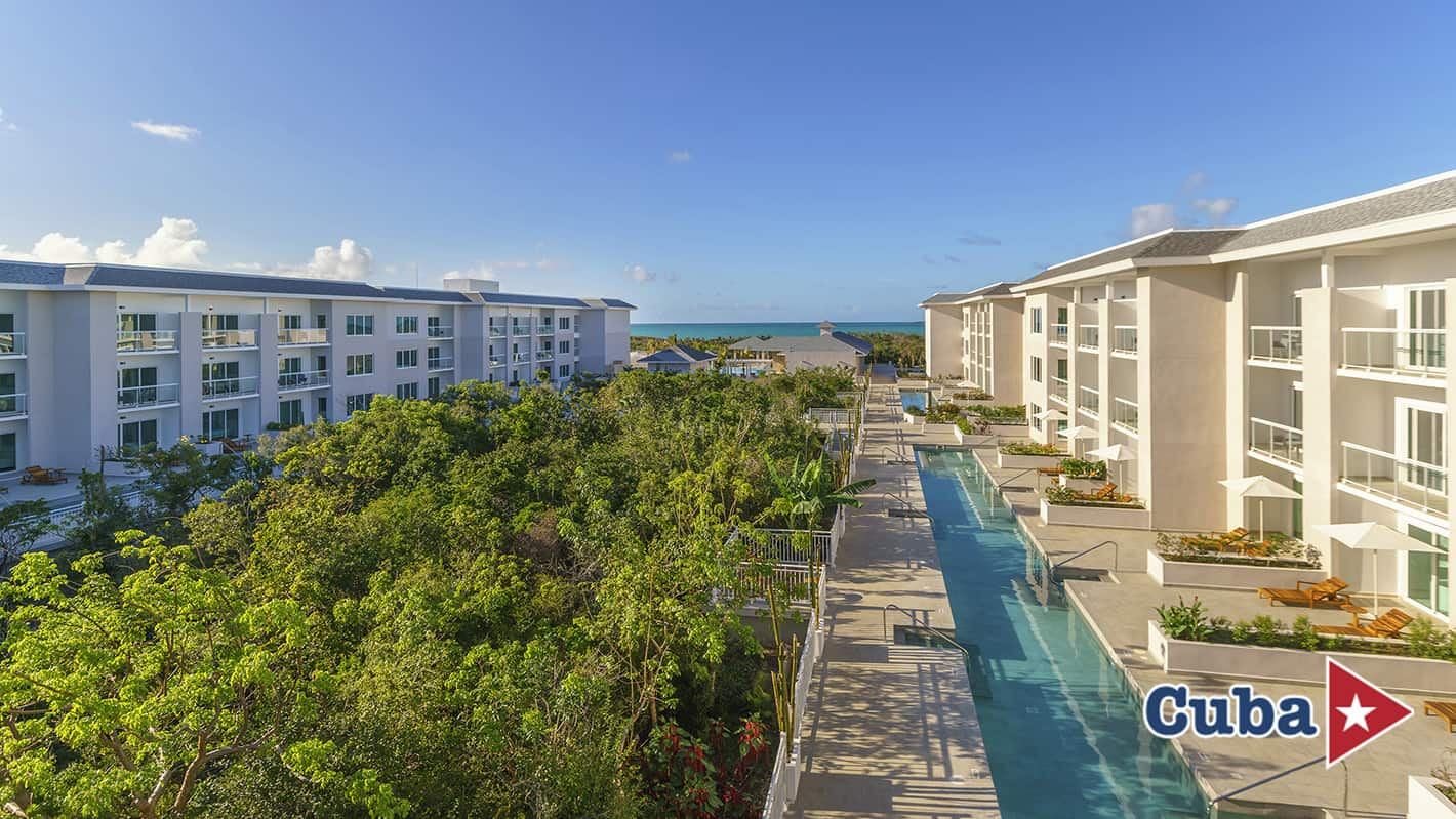 Paradisus los cayos cayo santa maria resort swim up view