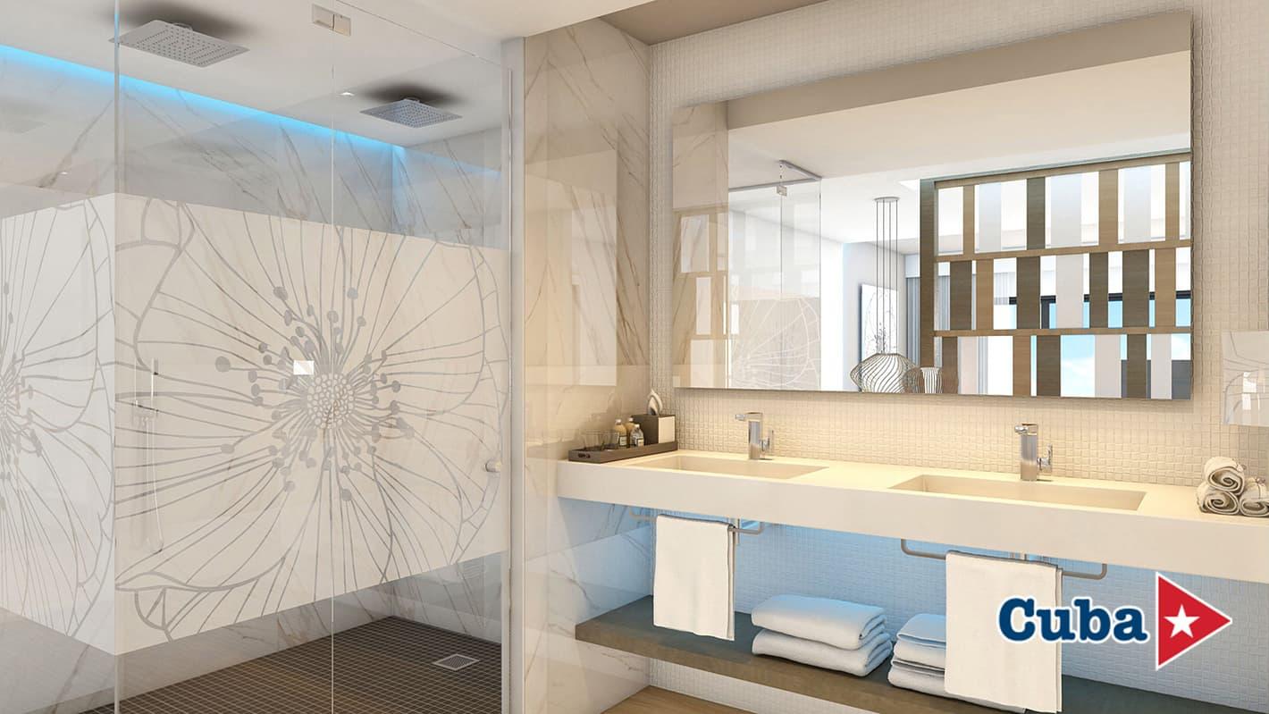 Paradisus los cayos cayo santa maria suite bathroom