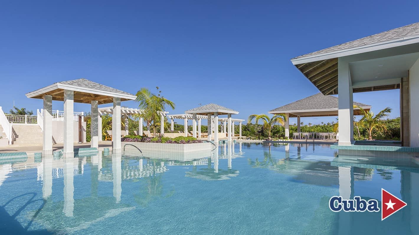Paradisus los cayos cayo santa maria the reserve pool bar